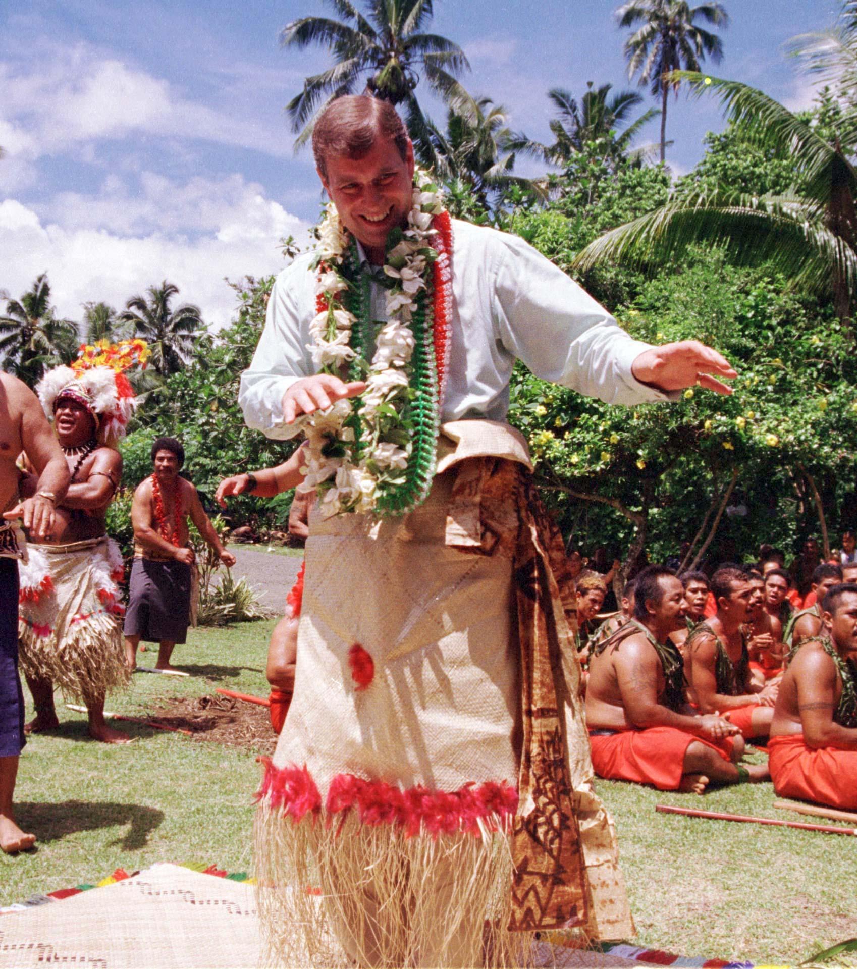 prince andrew hula