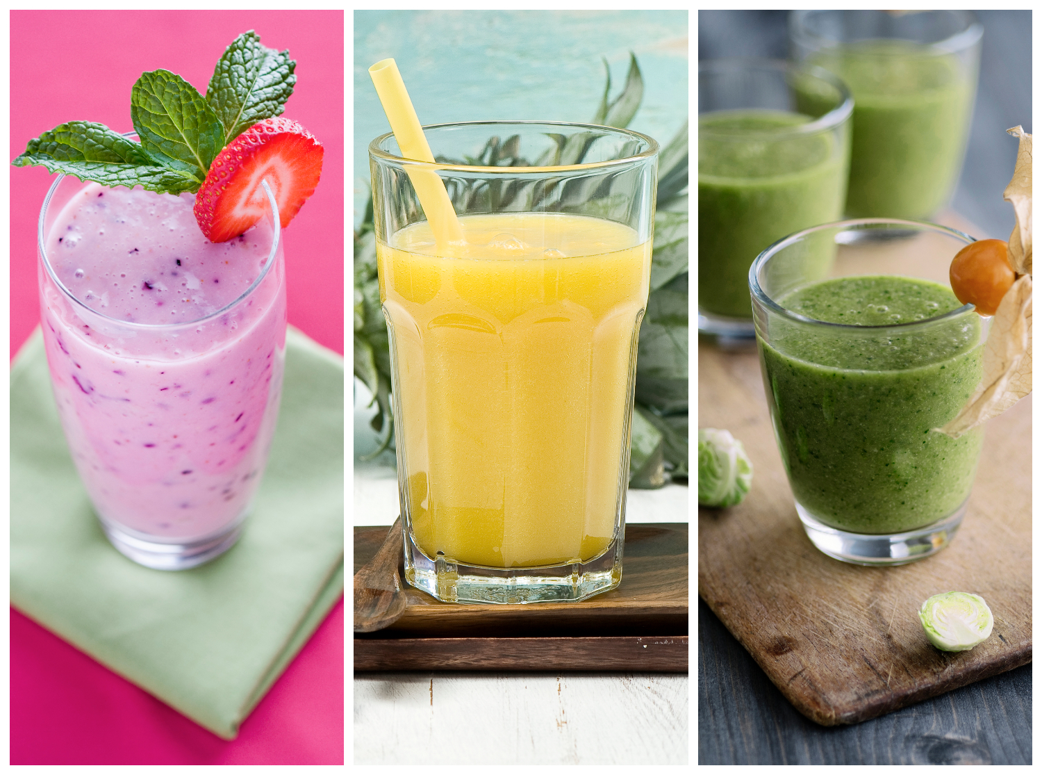 liquid detox and shake diet recipes