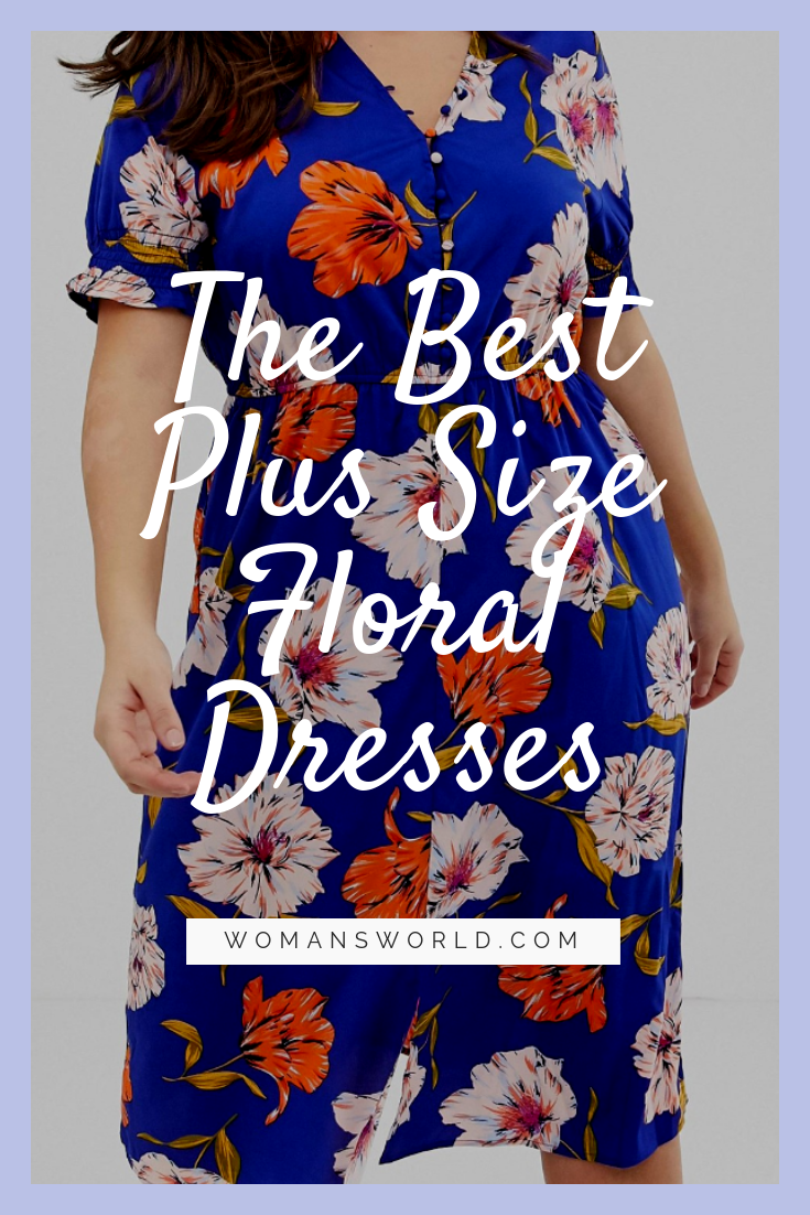 Best Plus Size Floral Dresses