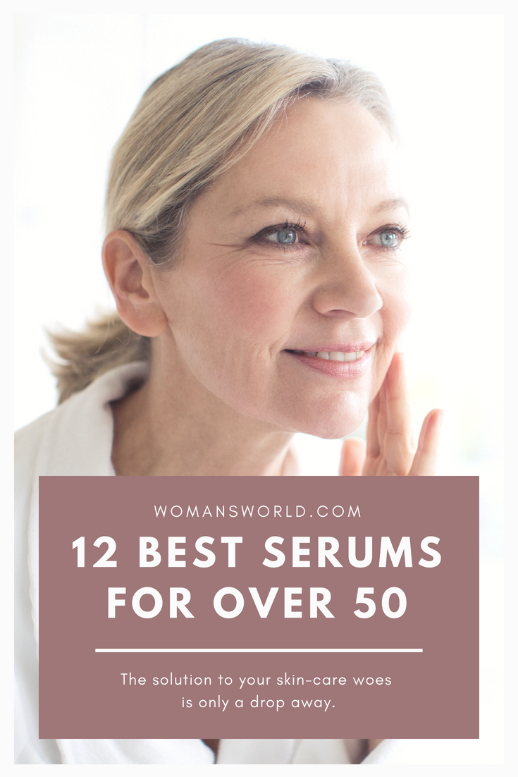 12 Best Serums For Women Over 50 With
