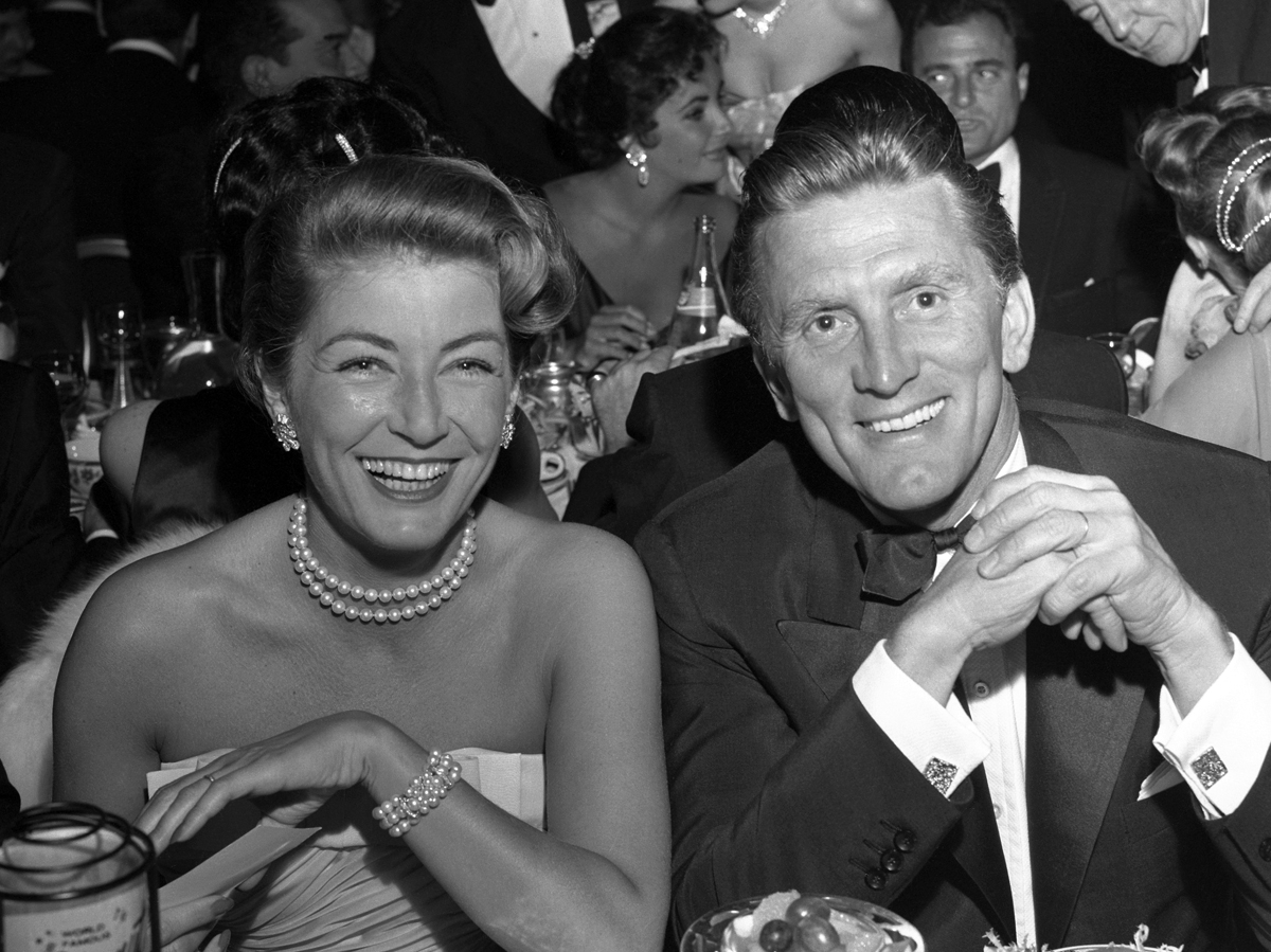 Kirk Douglas and Anne Buydens' Marriage Secrets