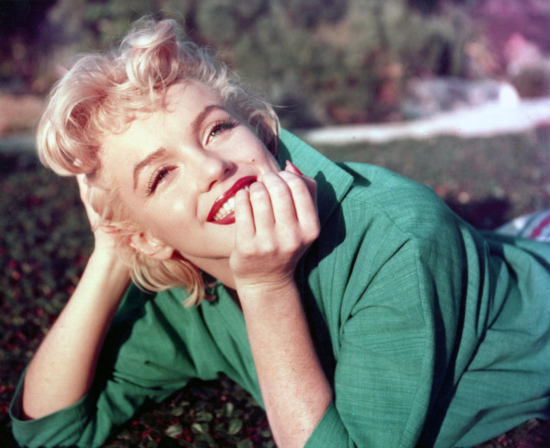 Marilyn Monroe in Green