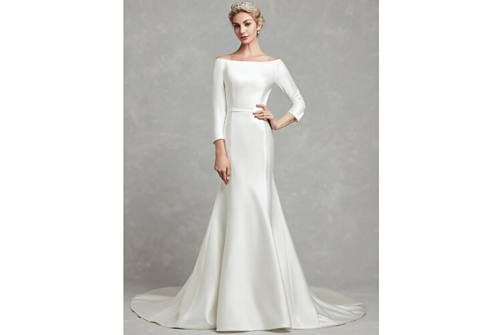 The Most Beautiful Wedding Dresses For Over 50 Brides