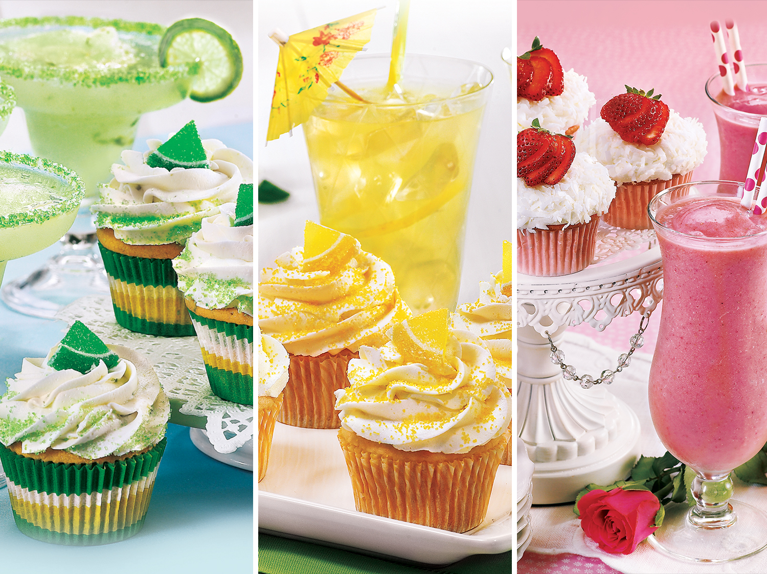 womans world happy hour cupcakes
