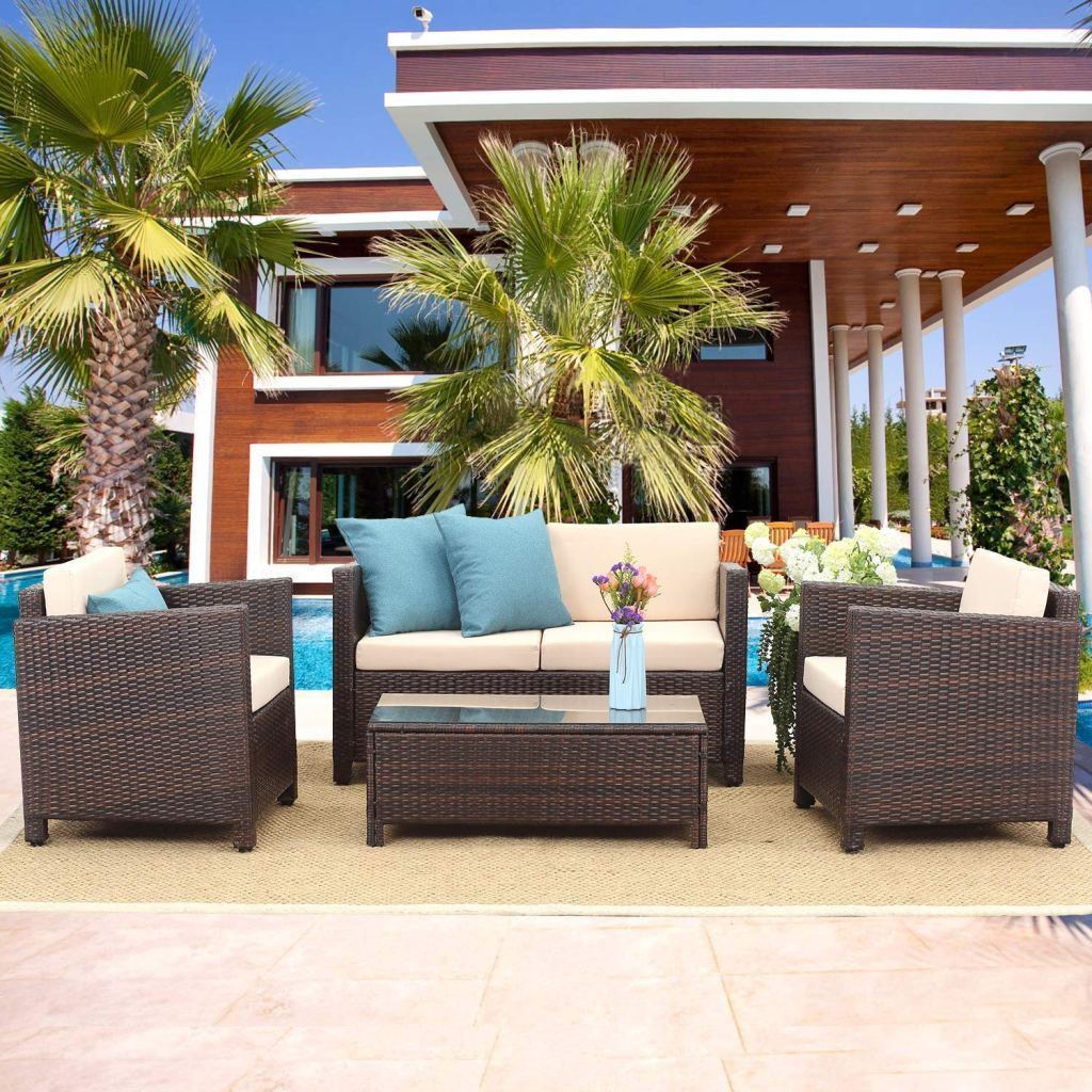 10 Outdoor Living Room Ideas that Are Affordble on Outdoor Living Room Set id=99665