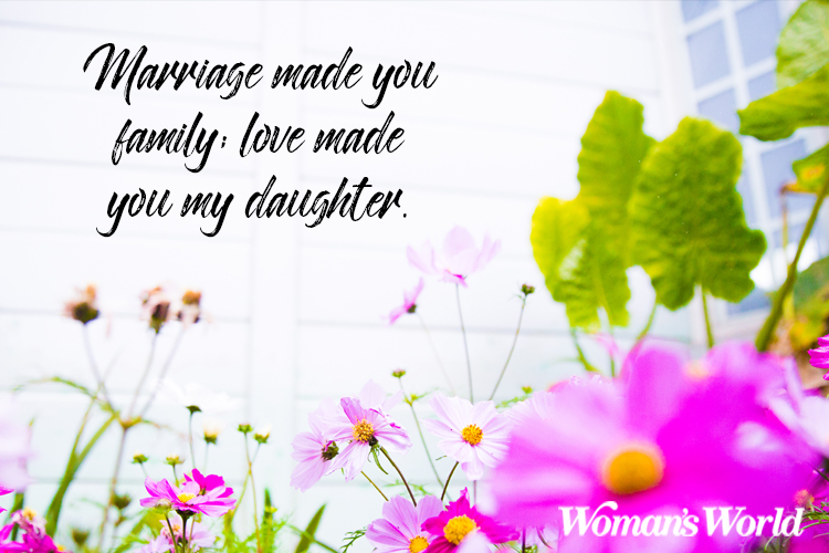 Daughter-In-Law Quotes to Help Welcome Her Into the Family
