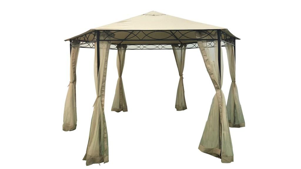 outdoor canopy gazebo