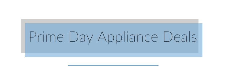 appliance deals on amazon