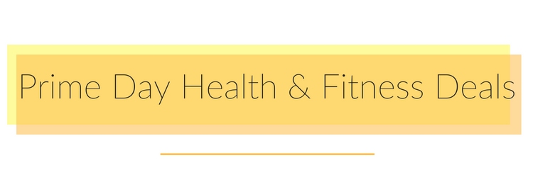health and fitness deals on amazon prime