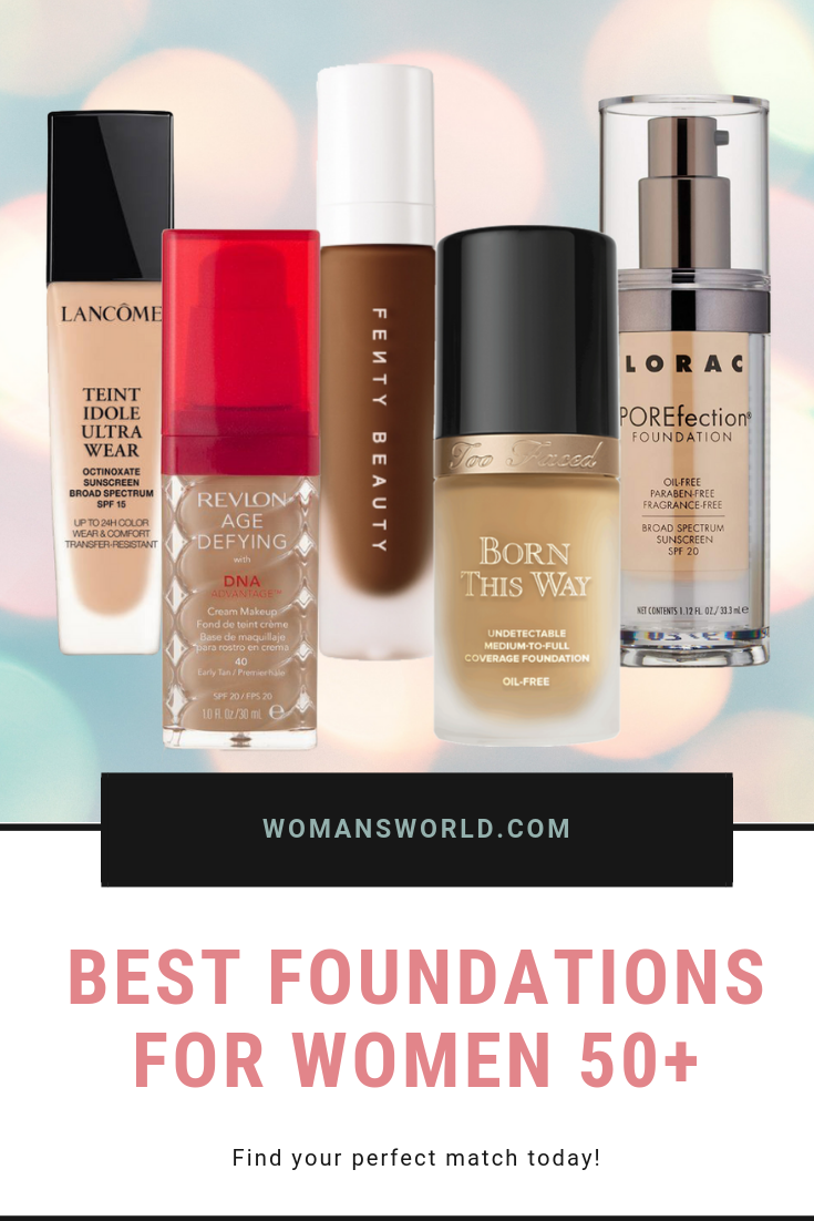 15 Best Foundation for Over 50 For That