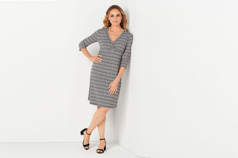 13 Best Work Dresses For Women Over 45