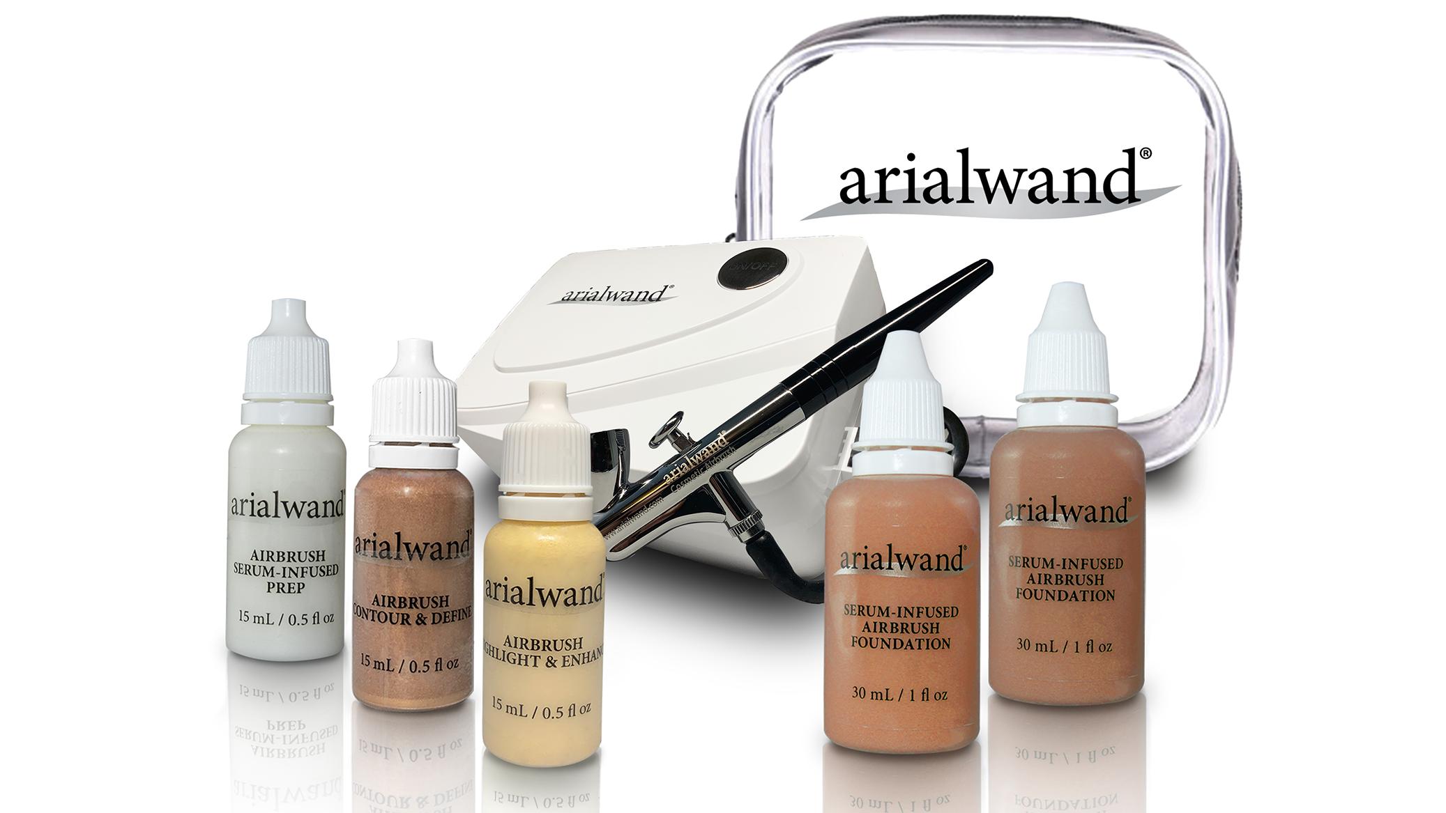 Arialwand airbrush makeup kit