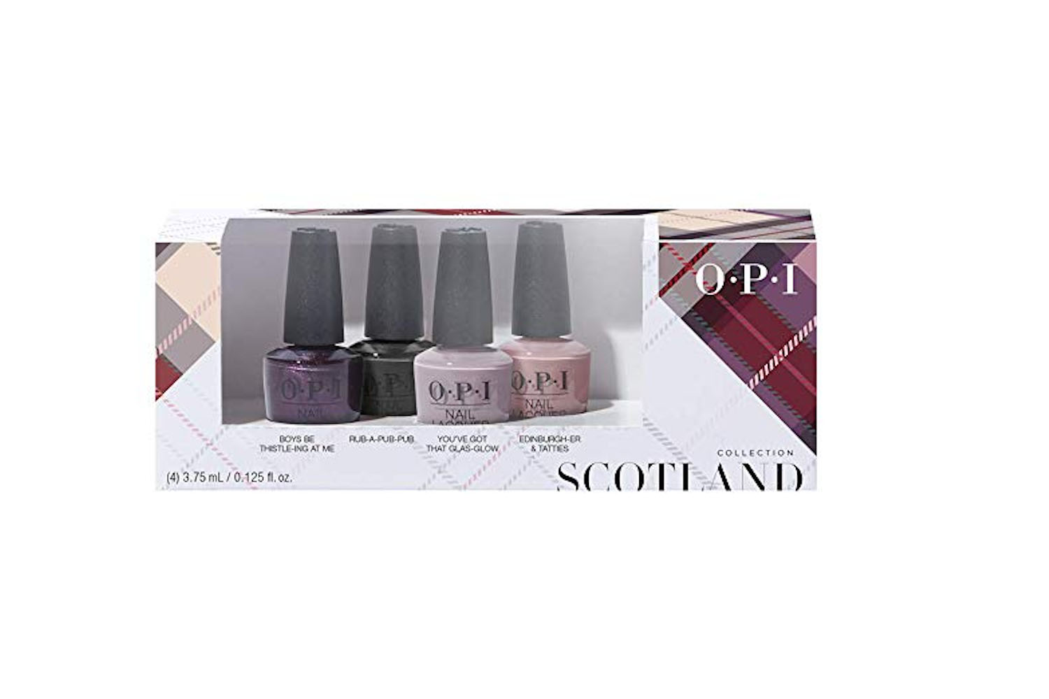 OPI Scotland Fall 2019 Collection