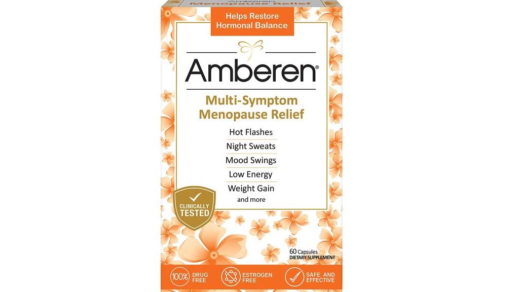 Amberen menopause relief