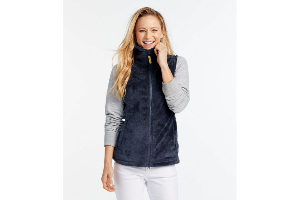 best fleece vest for women over 50
