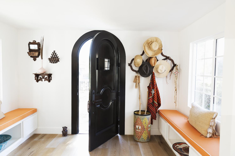 Black Front Door