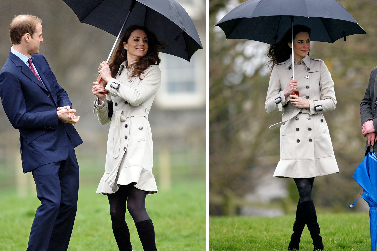 Kate Middleton Wears A Chic Skirt Suit Visiting a Children's Hospital - Woman's World