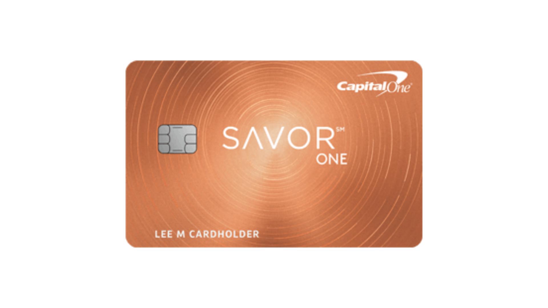 Capital One SavorOne Cash Rewards