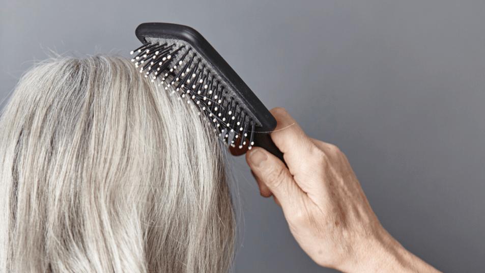 hair brush for thinning hair