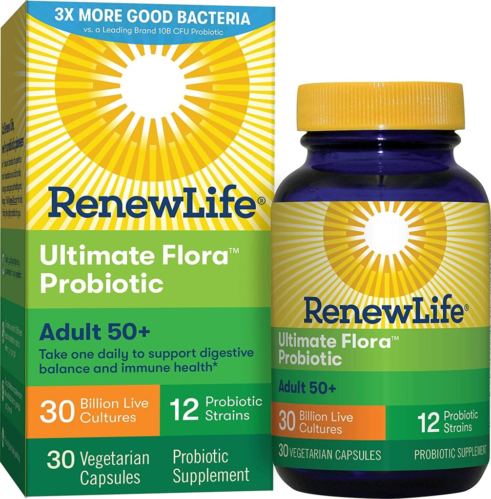 Renew Life Ultimate Flora Probiotic Adult 50+