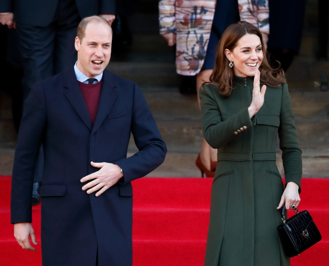 Prince William Adorably Gives Flowers to Kate During Their First Outing This Year - Woman's World