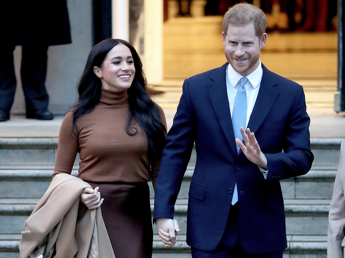 The Queen Announces That Harry and Meghan Will Lose Their Royal Titles in New Statement