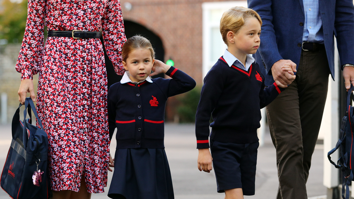 Prince George and Princess Charlotte's School Lunches Are Fit For Royalty