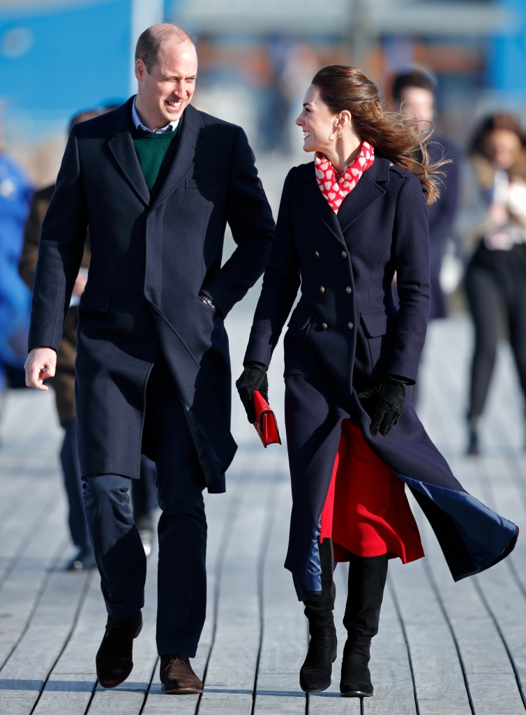 Kate and William Are All Smiles in the Seaside Town Where They Lived During Their First Years of Marriage - Woman's World
