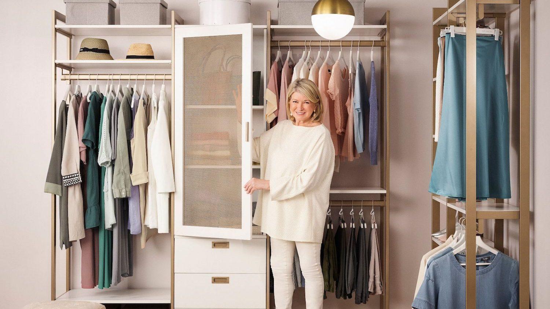 Martha Stewart's California Closets Collection Is an Organization Dream