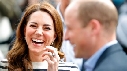 Kate Middleton and Prince William laughing
