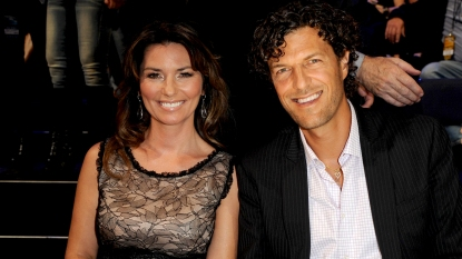 Shania Twain and husband Frédéric Thiébaud