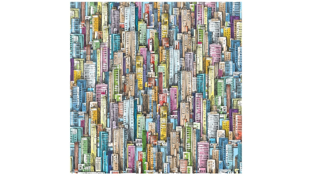 cityscape jigsaw puzzle