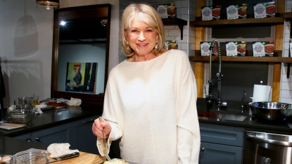 Martha Stewart cooking