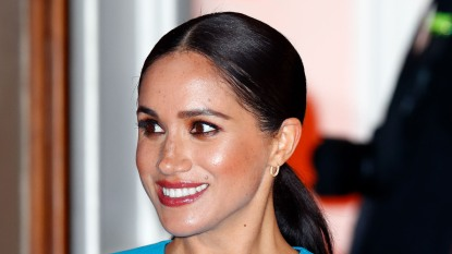 meghan markle close-up
