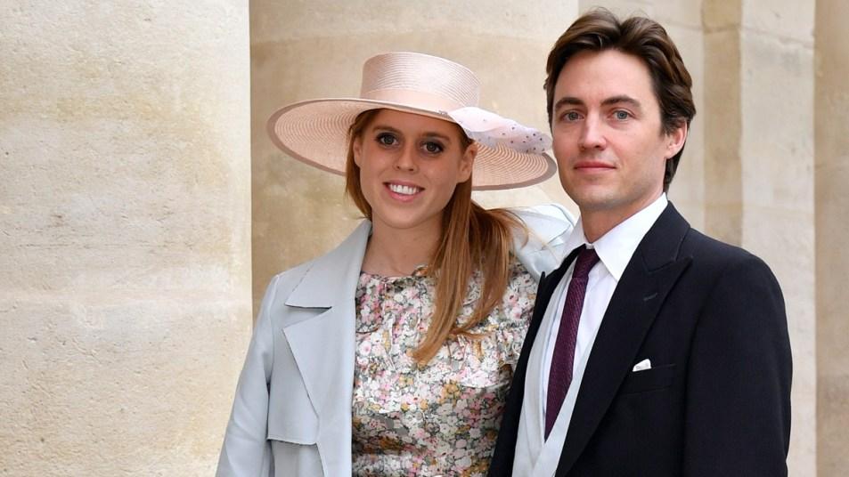Princess Beatrice and fiancé Edoardo Mapelli Mozzi