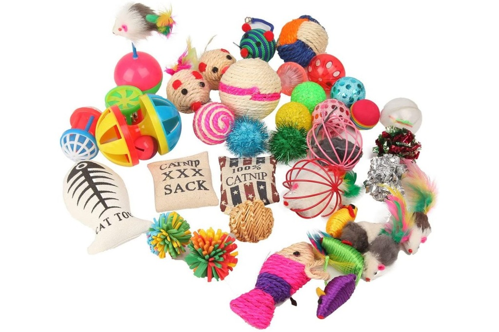 catnip toy variety pack