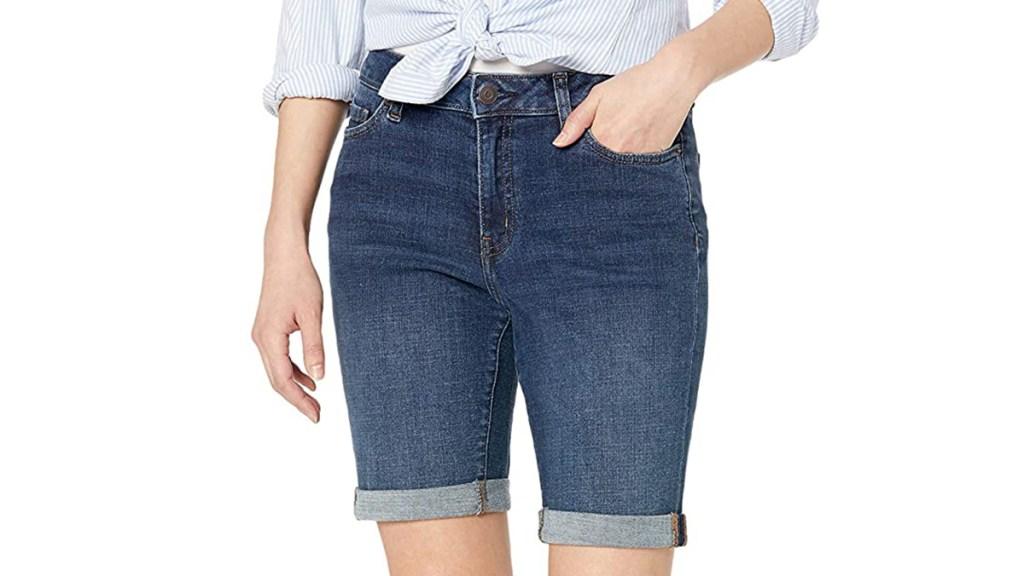 affordable denim shorts