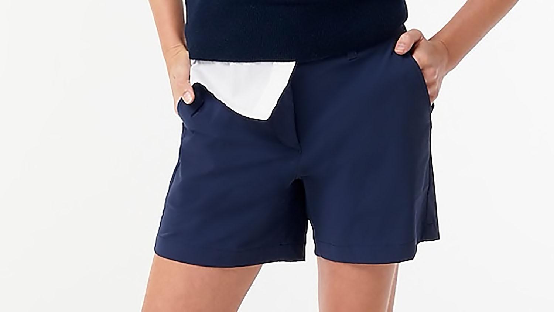 J. Crew navy nylon shorts