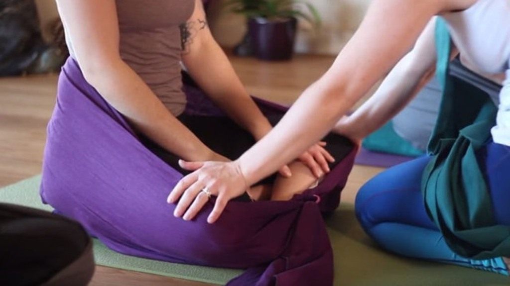 meditation wrap