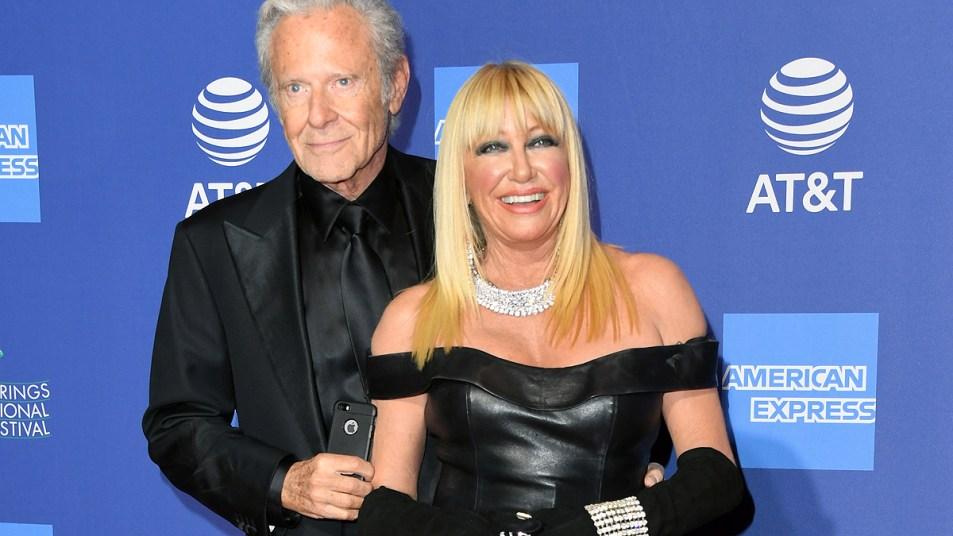 Suzanne Somers and husband Alan Hamel
