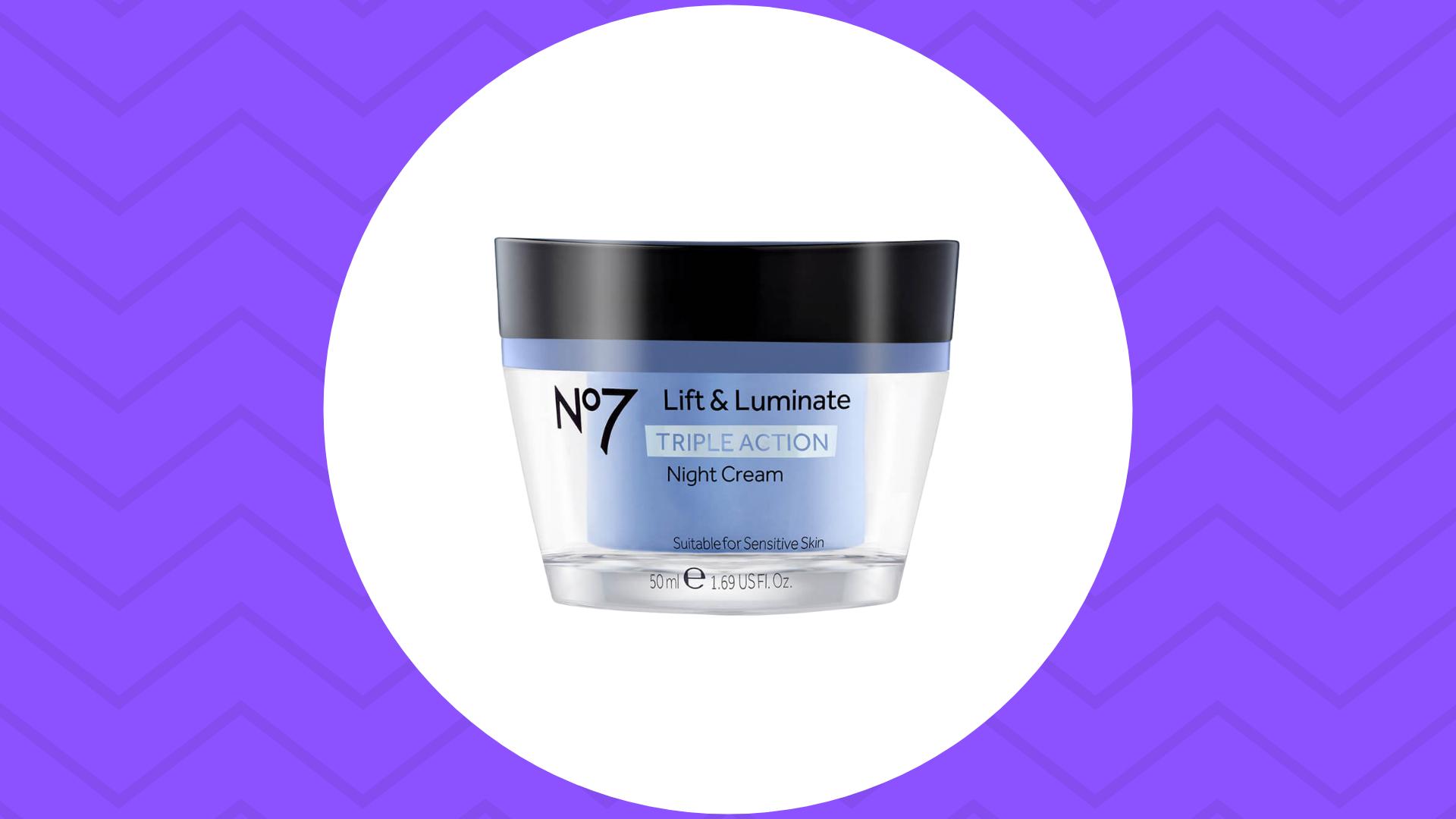 No7 Lift and Luminate cream