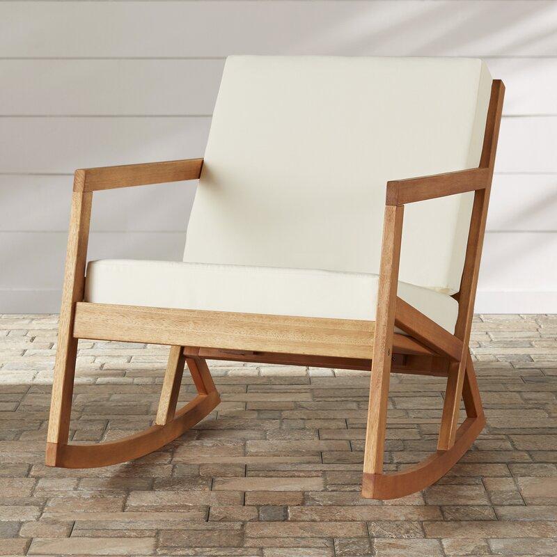 modern outdoor rocking chair