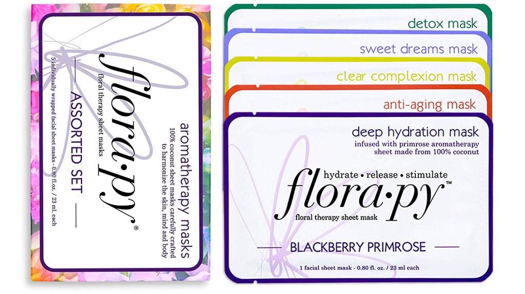 Florapy assorted sheet mask set