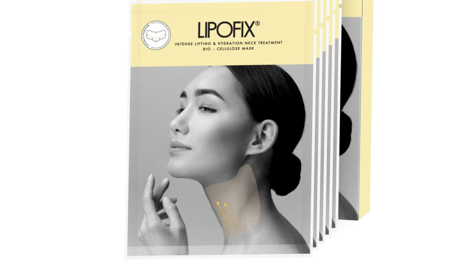 Lipofix neck mask