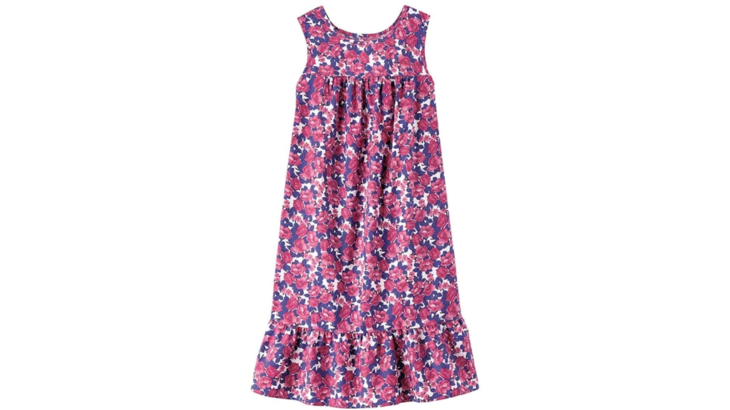 flowery house dress