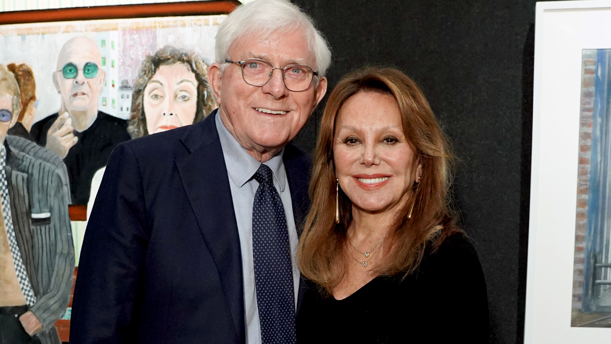 Marlo Thomas and Phil Donahue Reveal Their Secret to 40 Years of Happy Marriage