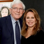 Marlo Thomas and Phil Donahue