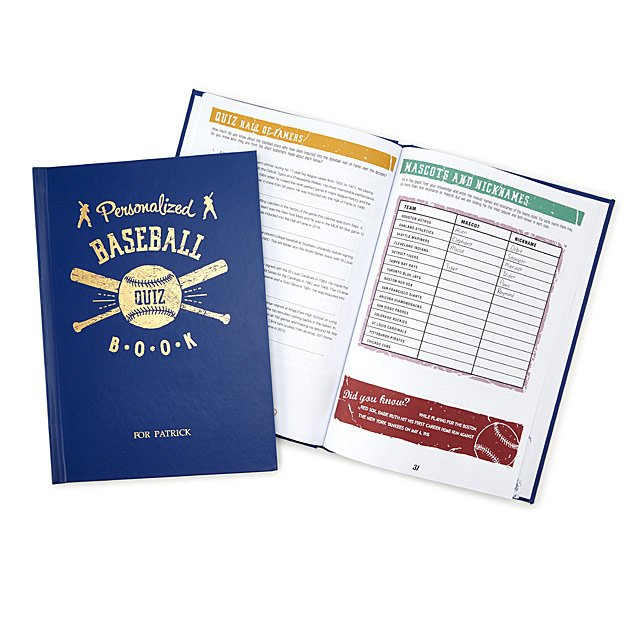 baseball trivia book
