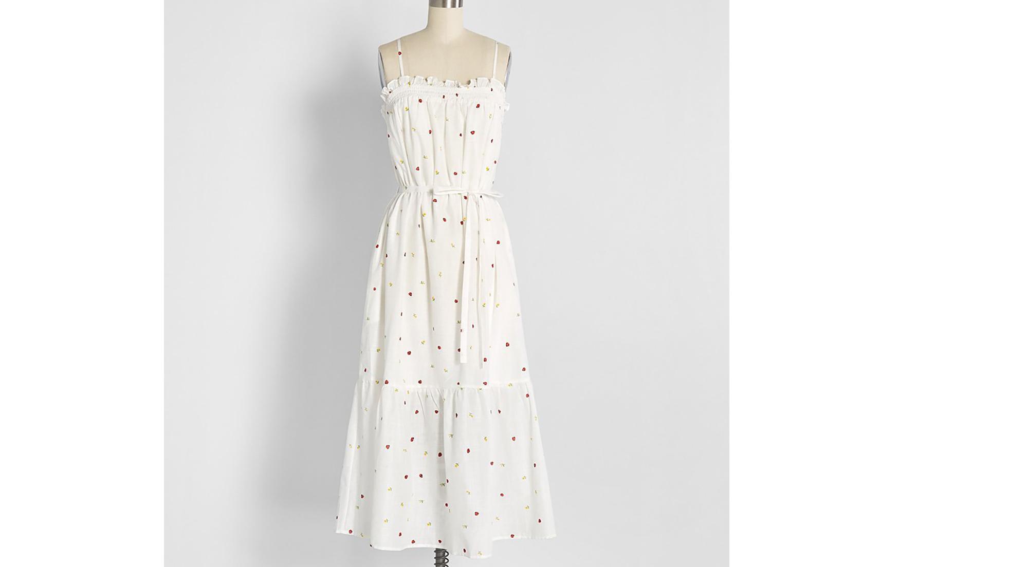 ModCloth Ladybug Dress
