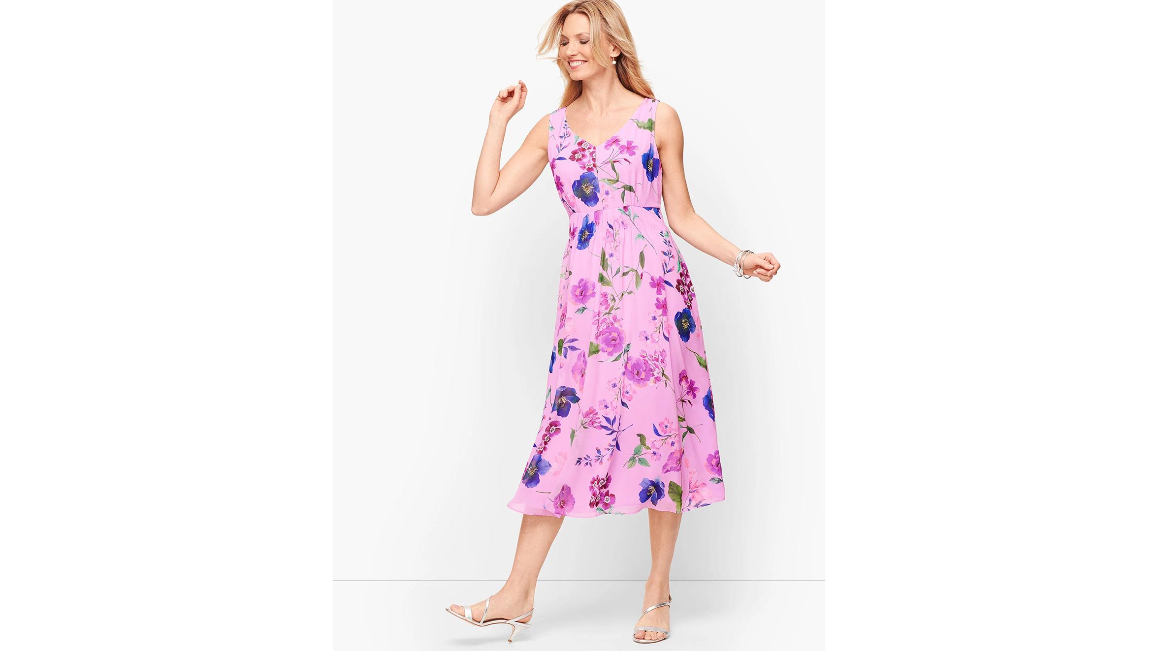 Talbots Georgette dress
